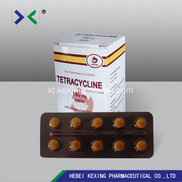 Tablet Oxytetracycline Hewan 200mg